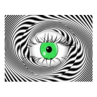HYPNOTIC EYE - HYPNOTIST POST CARDS
