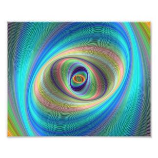 Hypnotic eye photograph