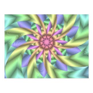 Hypnotic image 1 postcard