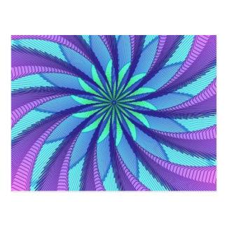 Hypnotic image 2 postcard