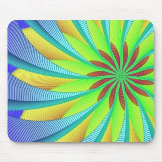 Hypnotic image 3 mouse pad