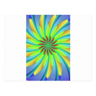 Hypnotic image 3 postcard