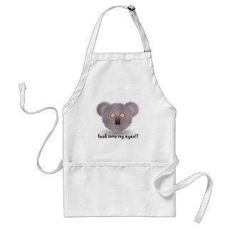 hypnotic koala bear standard apron