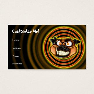Hypnotic Pug Business Card