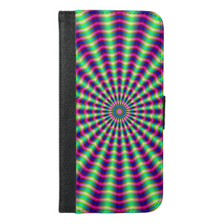 Hypnotic Rings and Beams iPhone 6/6s Plus Wallet Case