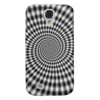 Hypnotic Spinning Spiral Galaxy S4 Case