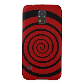 hypnotic spiral galaxy s5 cases
