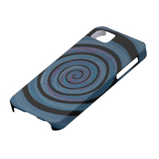 hypnotic spirals iPhone 5 case