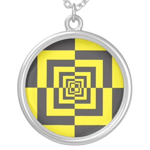 Hypnotic squares jewelry