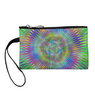 Hypnotic stars coin purses