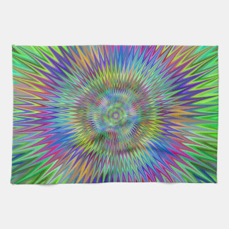 Hypnotic stars hand towels
