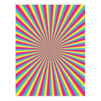 Hypnotic Sunshine Postcard