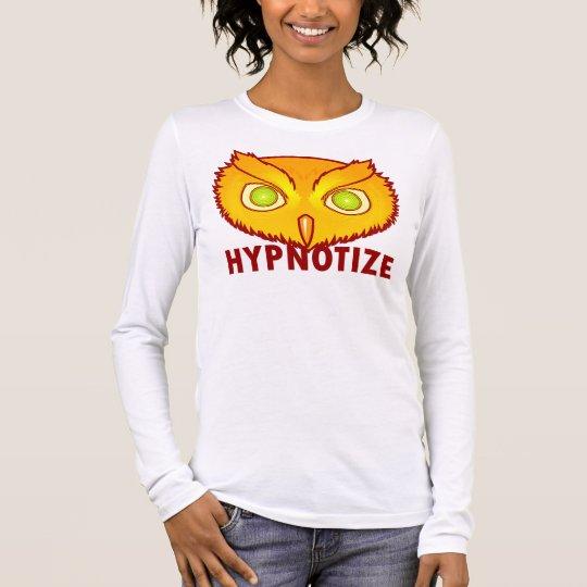 Hypnotise Owl Ladies Long Sleeve T-Shirt