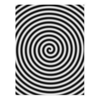 hypnotising postcard