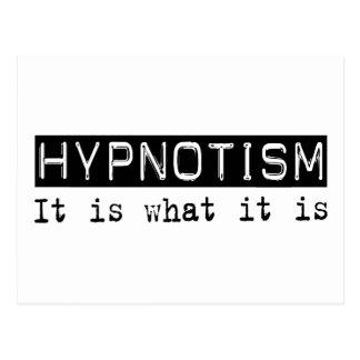 Hypnotism It Is Post Card