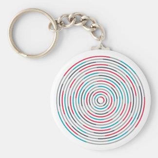 #Hypnotize Basic Round Button Key Ring