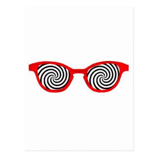 Hypnotize Sunglasses Red Rim The MUSEUM Zazzle Gif Postcard