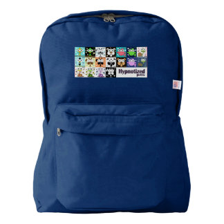 Hypnotized Pets Backpack, Navy Backpack