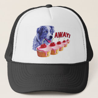 Hypnotized - Stains The Cupcake Dog - Away! Trucker Hat