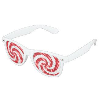 Hypnotizer Spiral Retro Sunglasses