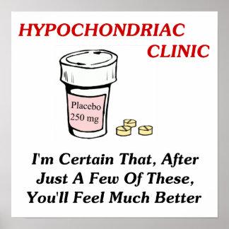 Hypochodriac Clinic Poster