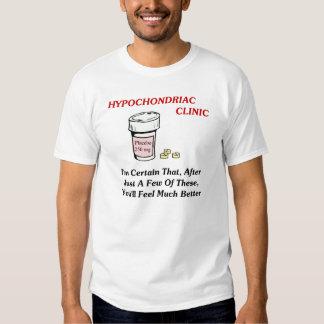 Hypochodriac Clinic T Shirt