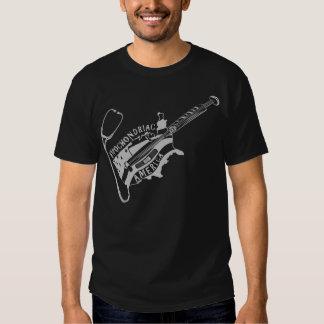 hypochondriac america black tee shirt