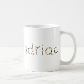 hypochondriac basic white mug