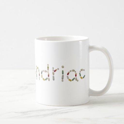 hypochondriac coffee mug
