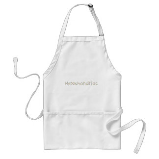 hypochondriac standard apron