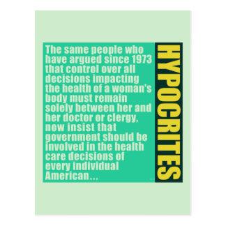 Hypocrites Postcards