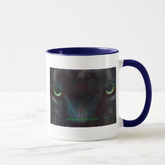 Hyptnotist The Black Panther Mug