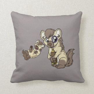 Hysterical Hyena! Cushion