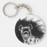 Hysterical Hyena Keychains