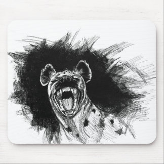 Hysterical Hyena Mouse Pad
