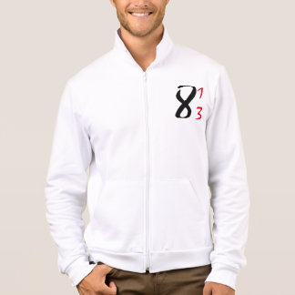 i8thirteen Fleece Jogger Printed Jacket