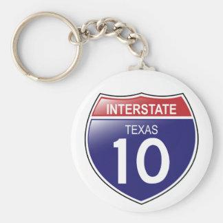 I-10 Texas Keychain