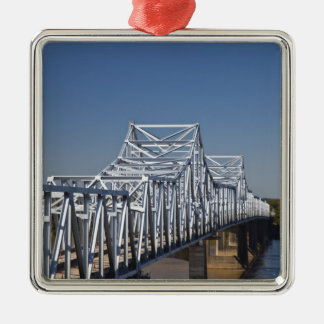 I-20 Highway bridge across Mississippi River, Christmas Ornament