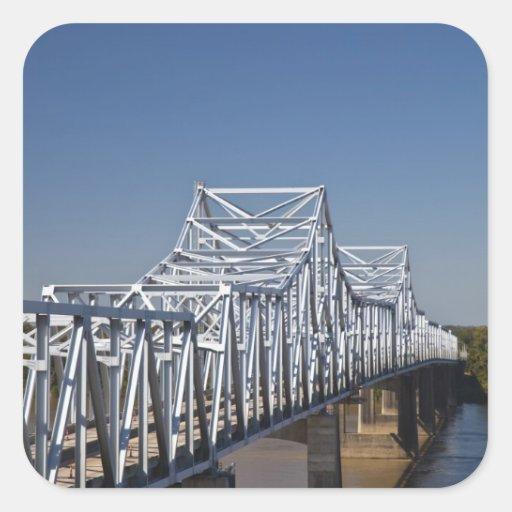 I-20 Highway bridge across Mississippi River, Stickers