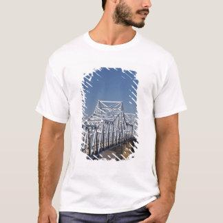 I-20 Highway bridge across Mississippi River, T-Shirt