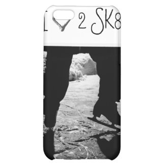 I 3 2 SK8 Black and White case Cover For iPhone 5C