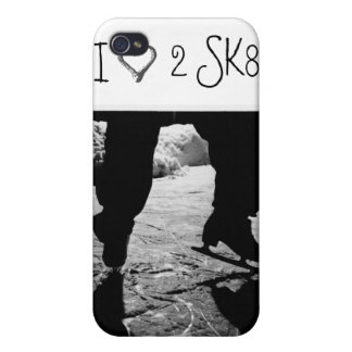 I 3 2 SK8 Black and White case iPhone 4/4S Case