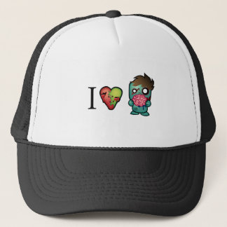 I <3 Brains- Zombies Are Everywhere! Trucker Hat