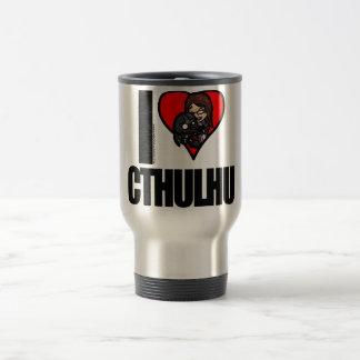 I <3 Cthulhu Travel Mug