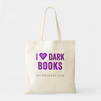 I <3 Dark Books Tote Bag