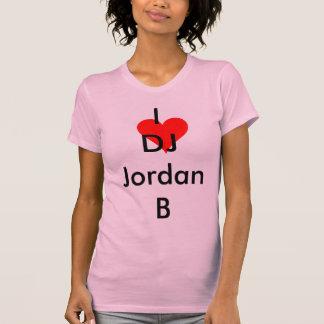 I <3 DJ Jordan B Tee Shirt