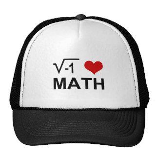 I <3 Math Cap