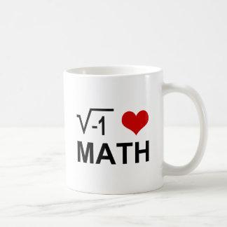 I <3 Math Coffee Mug