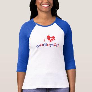 I <3 Montessori TGPM Spirit Raglan Tee