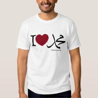 I <3 Muhammad (PBUH) Tee Shirts